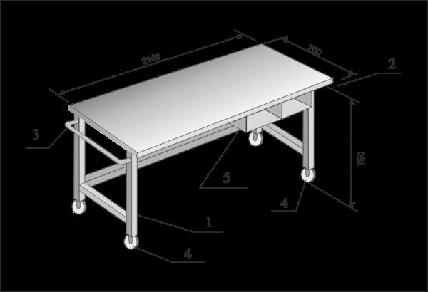 Стол для многокарманного сортировщика BPS C4-12